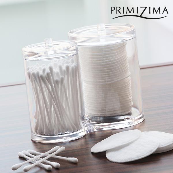 Primizima Contenitore per Cotton Fioc e Dischetti di Cotone Primizima