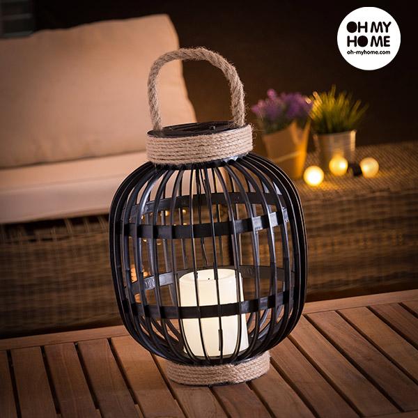 Oh My Home Napelemes Lámpa LED Gyertyával
