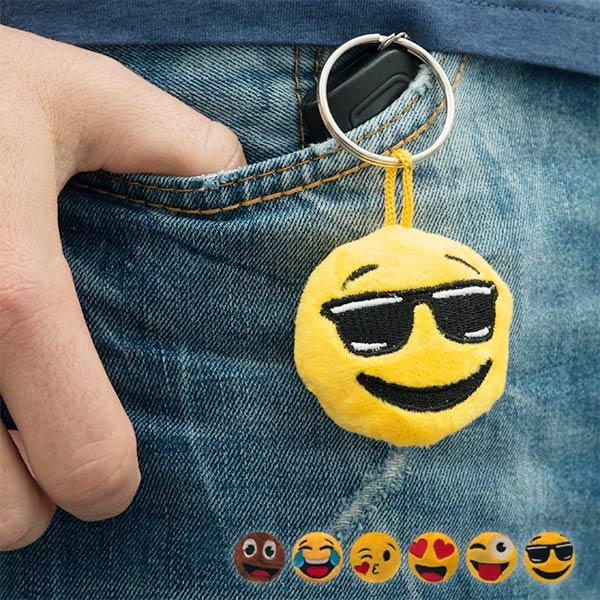 Llavero Emoticono de Peluche Gadget and Gifts