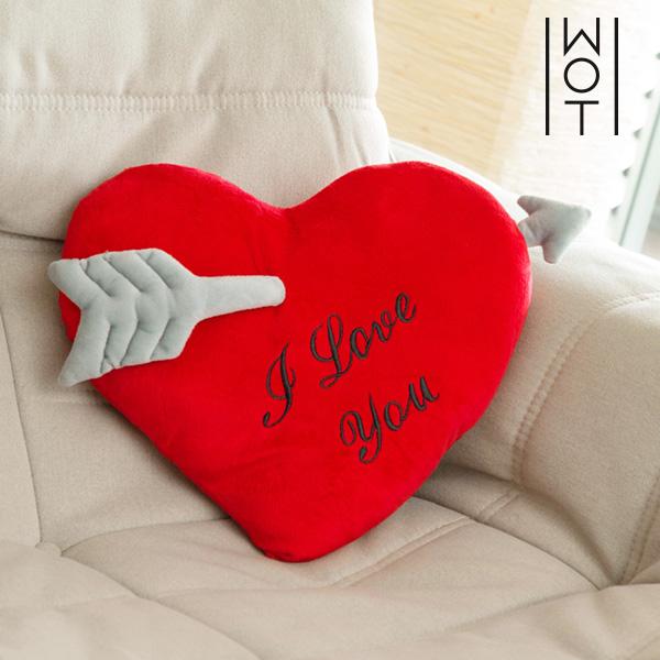 Wagon Trend I Love You Szív Párna Nyíllal (35 cm)