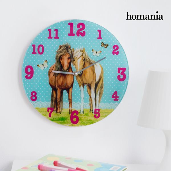 Homania Horses and Butterflies Fali Óra