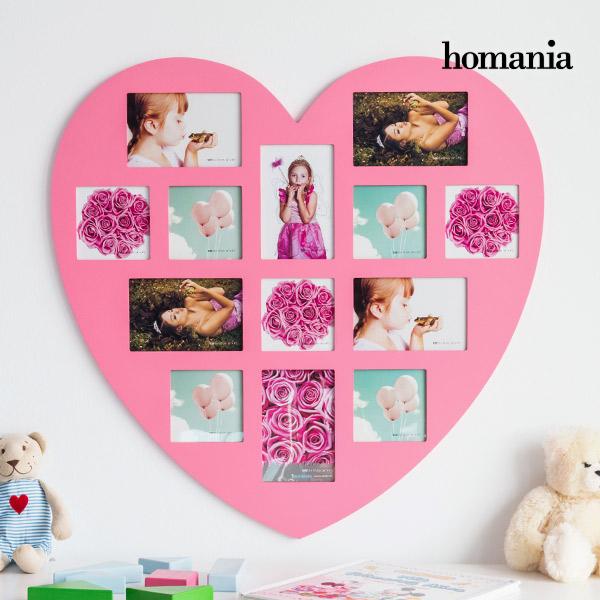 Homania Pink Heart Szív Alakú Fényképkeret (13 fénykép)