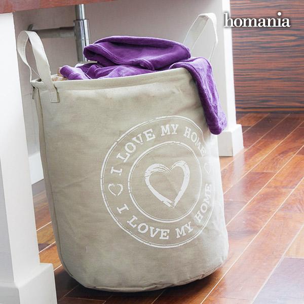 Bolsa para Ropa Sucia I Love My Home by Homania