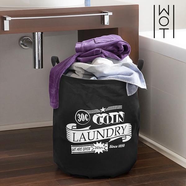 Bolsa para Ropa Sucia Black Laundry Wagon Trend
