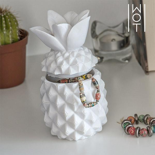 Ananas Decorativo con Coperchio Wagon Trend 7569000774937  02_V0300427