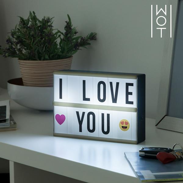 Wagon Trend LED Tábla Háttérvilágítással (21 x 15 cm)