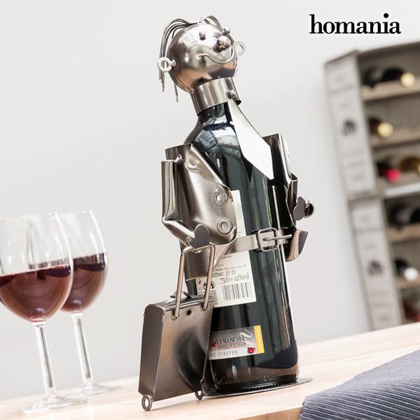 Portabottiglia in Metallo Businessman by Homania 7569000782543  02_V0300542