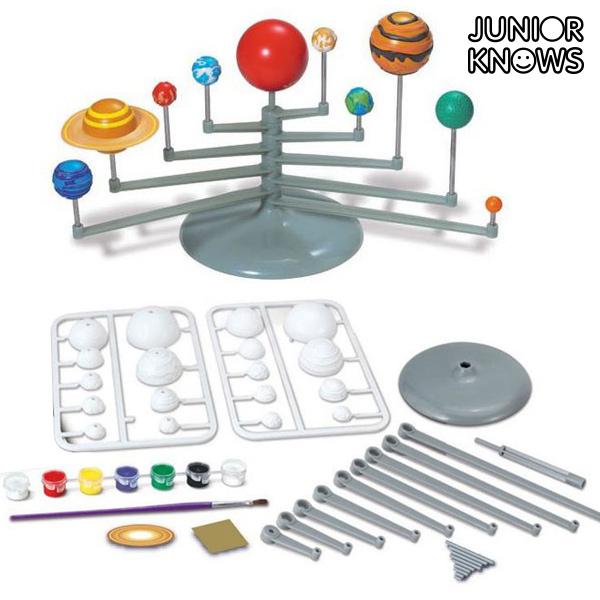 Junior Knows Naprendszer Bolygói Szett