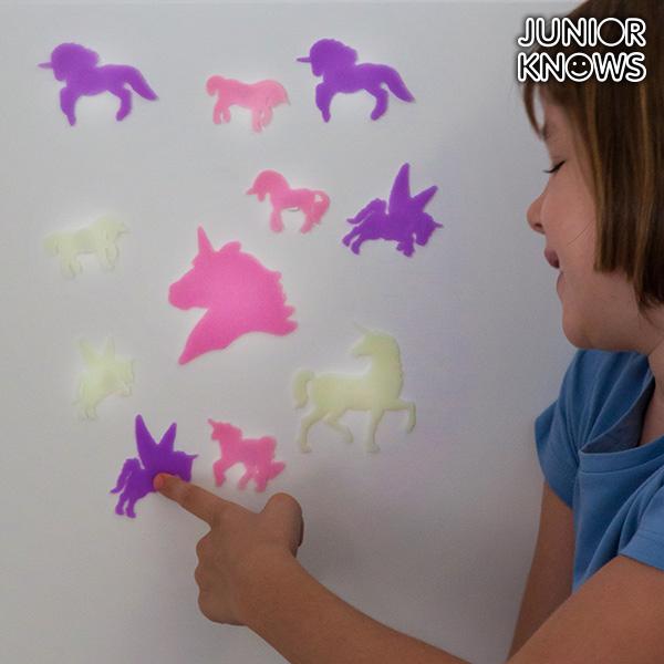 Junior Knows Fluoreszkáló Unikornis (14 részes)