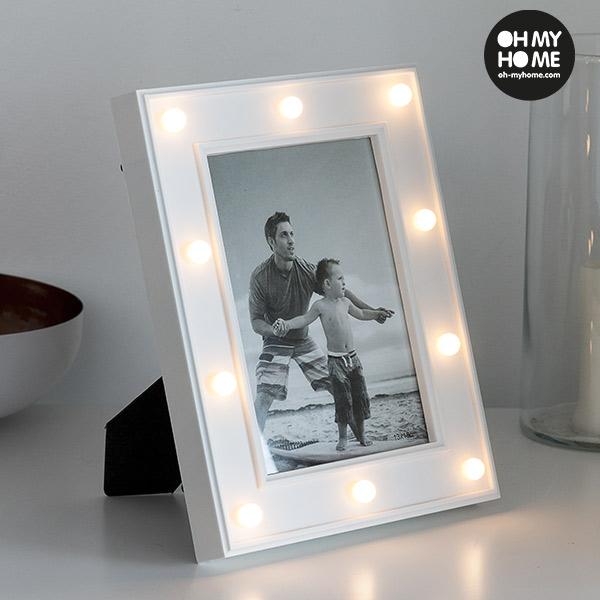 Oh My Home Asztali LED Képkeret