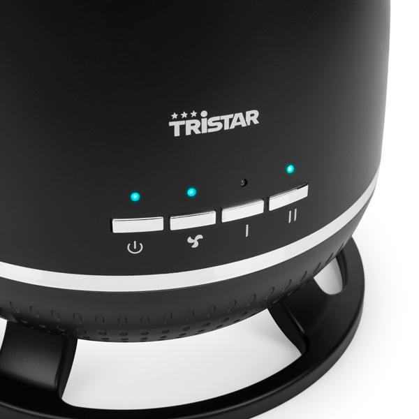 Thermo Ventilateur Portable en Céramique Tristar KA5045 1800W Noir