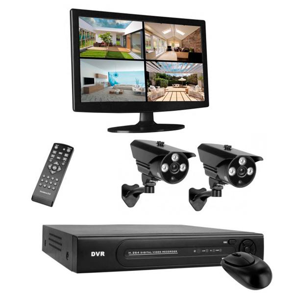 HD Smartwares DVR724S Kamerás Megfigyelő Rendszer