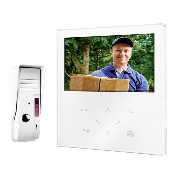 Smartwares VD71SW Csengő Vezetékes Video Kaputelefonnal