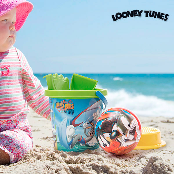 Hračky na Piesok s Loptou Looney Tunes (5 kusov)