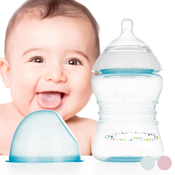 Otroška Steklenička Srednjega Pretoka 250 ml - Modra