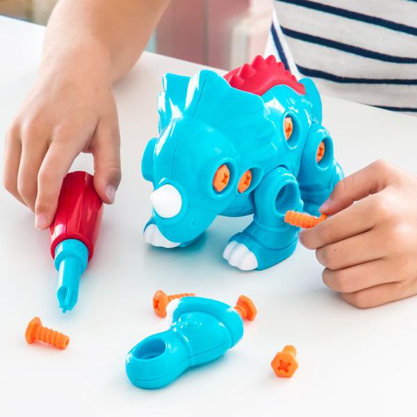 Igra Sestavljanja za Otroke Triceratops