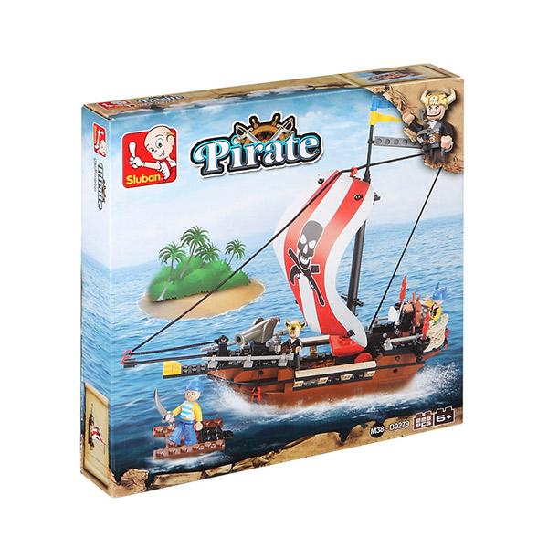 Gioco di Costruzione Pirati (226 pezzi)