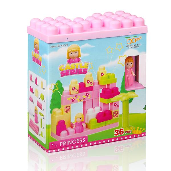 Kocke za Sestavljanje Castle (36 kosov)