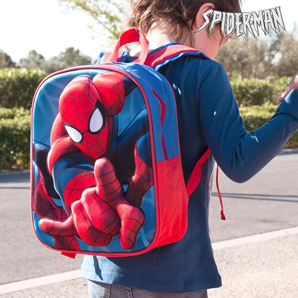 Sac à dos scolaire 3D Spiderman