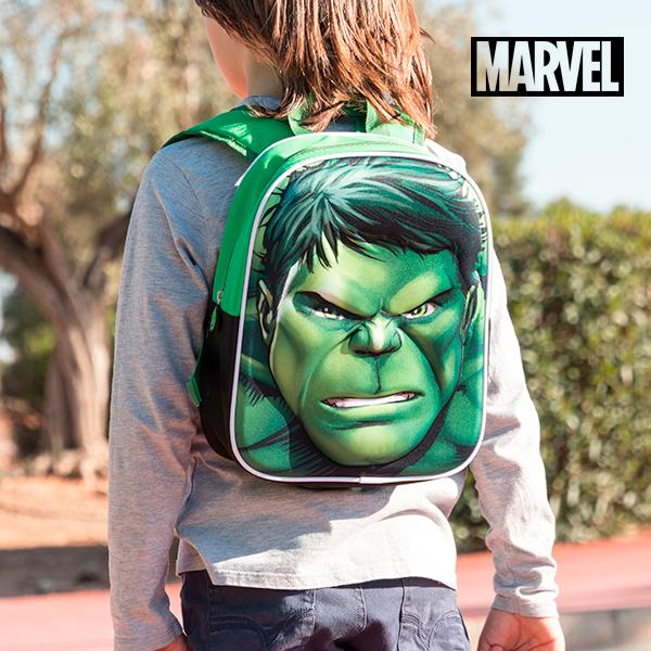 Sac à dos scolaire 3D Hulk