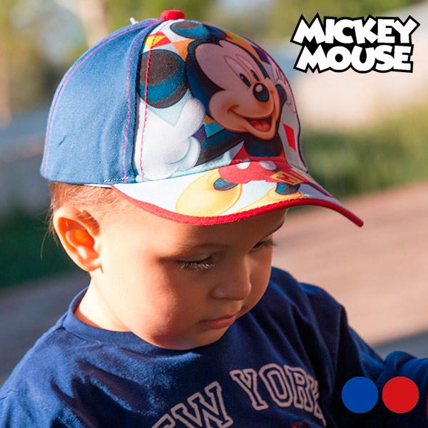 Otroška Kapa Mickey Mouse - Rdeča