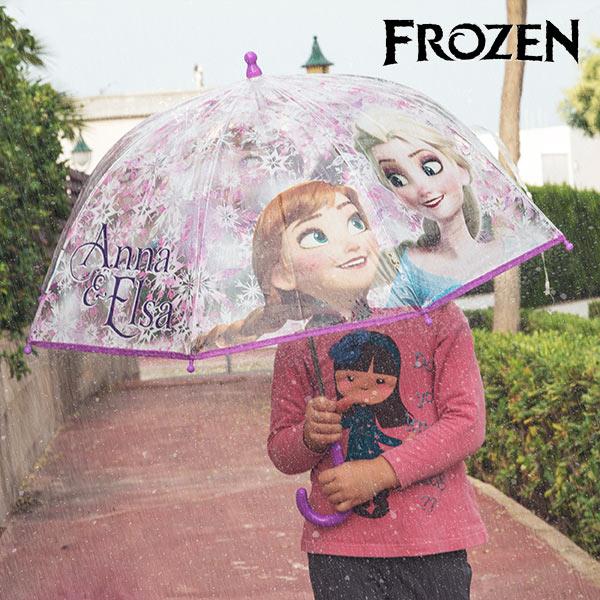 Parapluie Bulle Transparent Frozen