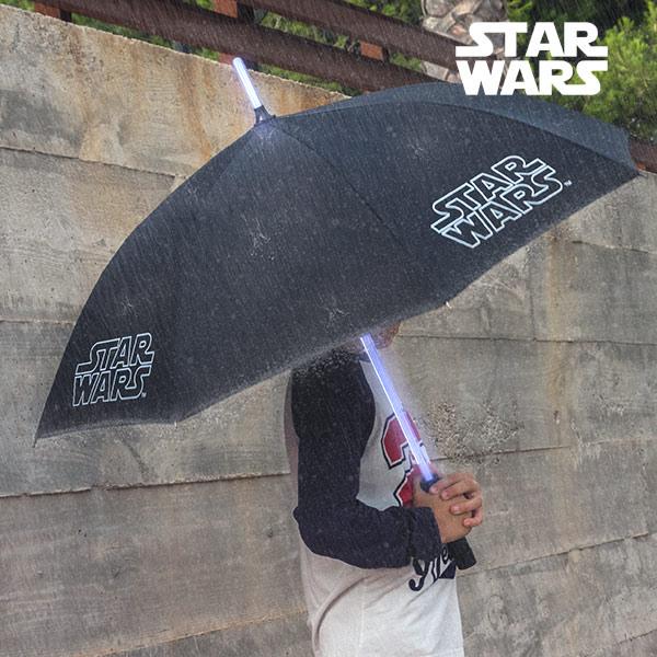 Paraguas Star Wars con LED