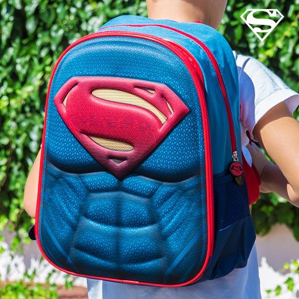 Superman 3D Iskolatáska