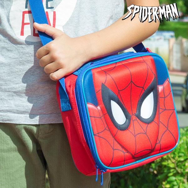 Spiderman Hőtartó Uzsonnásdoboz Válltáska