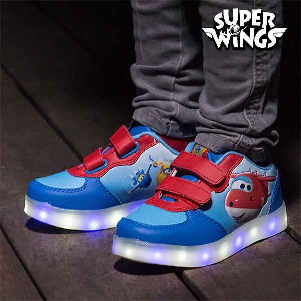 Zapatillas Deportivas con LED Super Wings