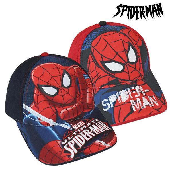 Otroška Kapa Spiderman (53 cm) - Rdeča