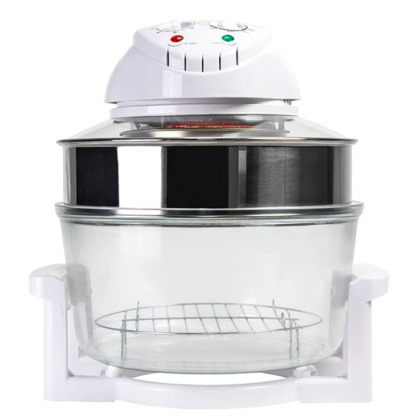 Four à convection Cecomix Combi Grill 3001 12 L 1200-1400W Blanc Transparent
