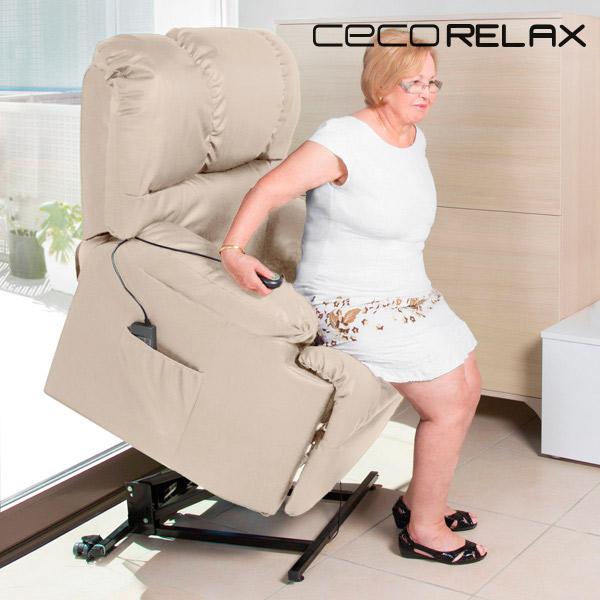 Felállást Segítő Relax Masszázsfotel Cecorelax 6012