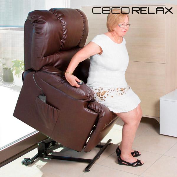Felállást Segítő Relax Masszázsfotel Cecorelax 6014