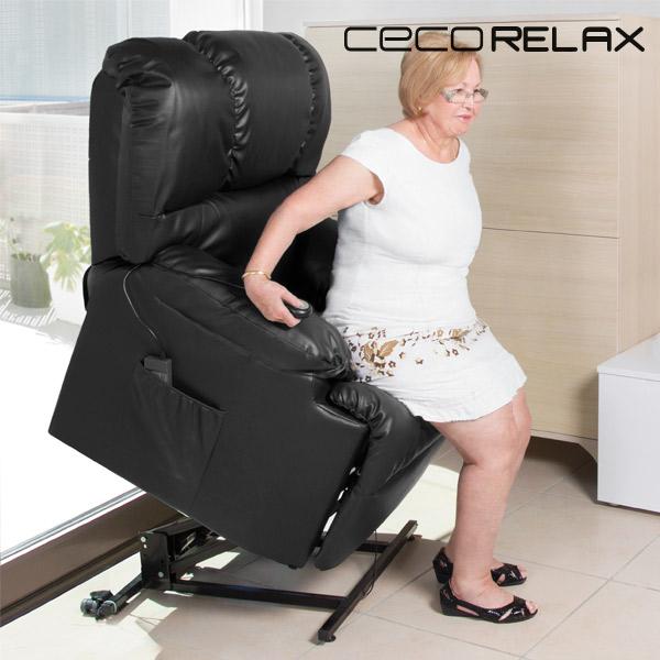 Felállást Segítő Relax Masszázsfotel Cecorelax 6011