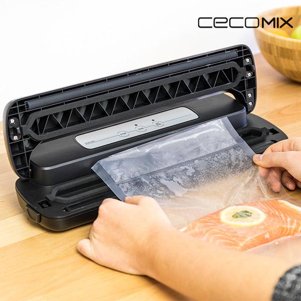 Vacuum Packer and Sealer Cecomix Sealvac 4049 LED 0,8 bar 110W Black