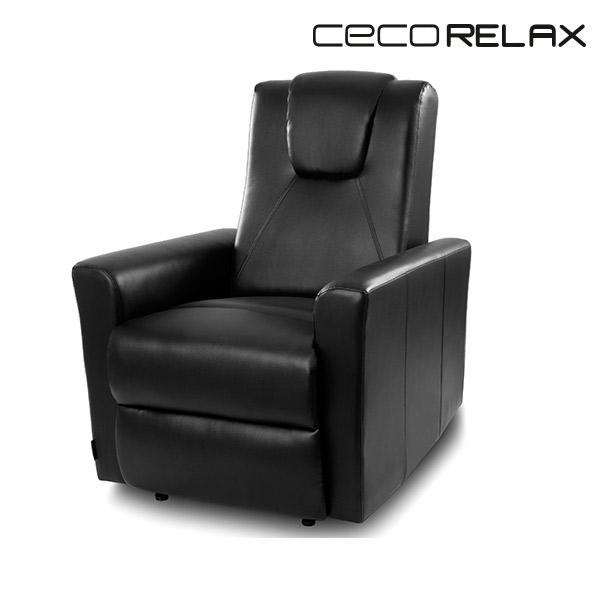 Cecorelax 6151 Fekete Relax Masszázsfotel