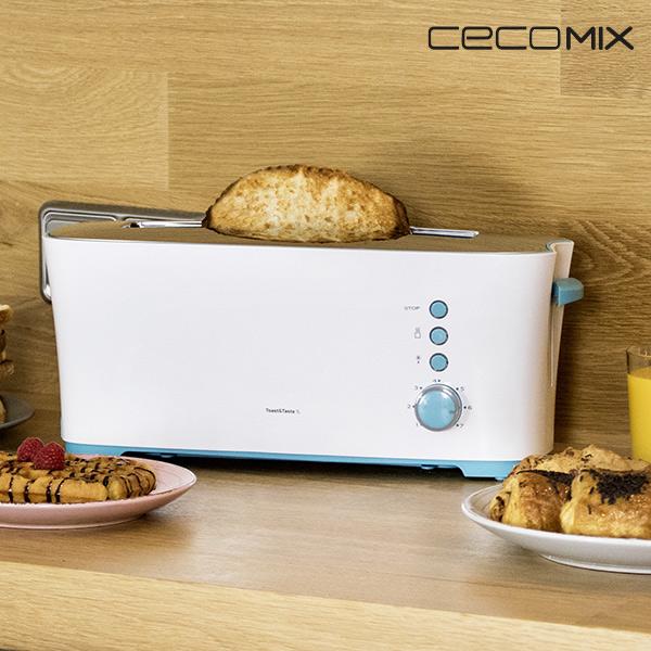 Cecomix Taste 1 L 3028 1000W Kenyérpirító