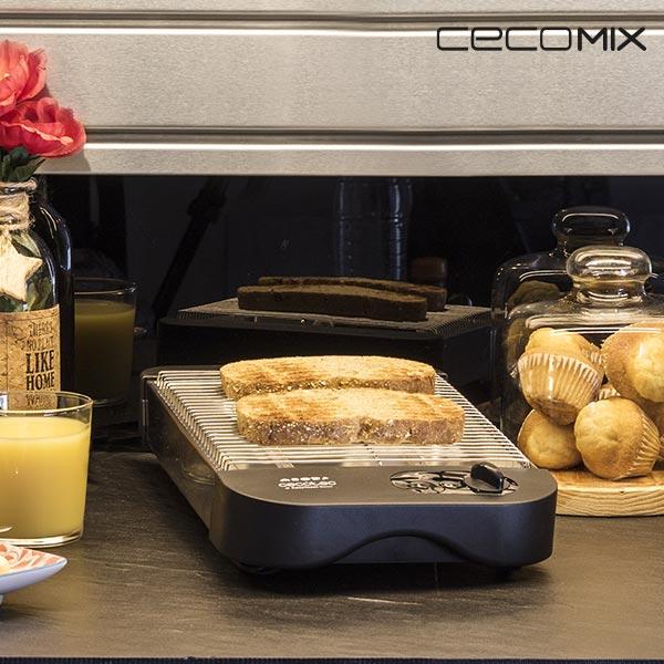 Cecomix Basic 8003 600W Vízszintes Kenyérpirító