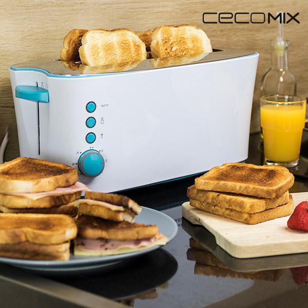 Cemomix Taste 2L 3029 1350W Kenyérpirító