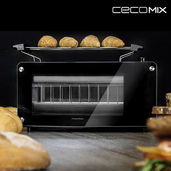 Cecomix Vision 3042 1260W Toaster