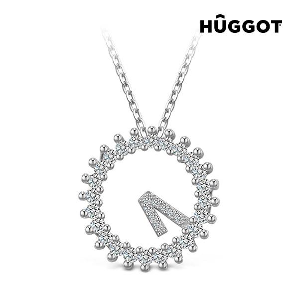 Only One Hûggot 925 sterling ezüst nyakék cirkóniakövekkel (45 cm)