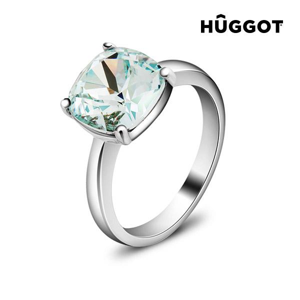 Pacific Hûggot ródiumozott gyűrű Swarovski® kristályokkal