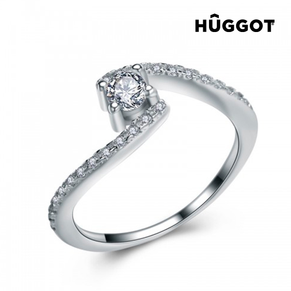 Marilyn Hûggot 925 sterling ezüst gyűrű cirkóniakövekkel