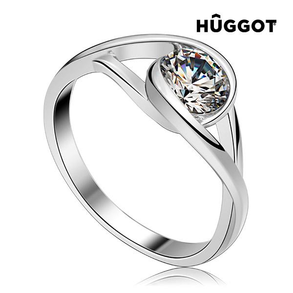 Eye Hûggot 925 sterling ezüst gyűrű cirkóniával