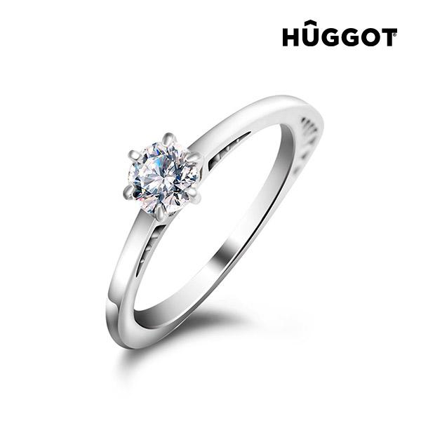 Geometry Hûggot 925 sterling ezüst gyűrű cirkóniával és Swarovski® kristályokkal