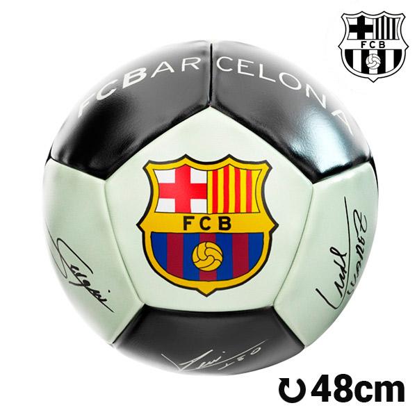 Balón de Fútbol Mediano Fluorescente F.C. Barcelona