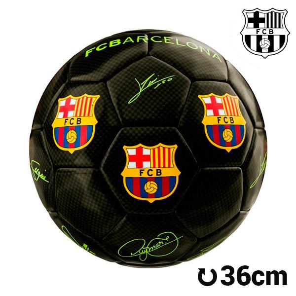 F.C. Barcelona Mini Fekete Focilabda
