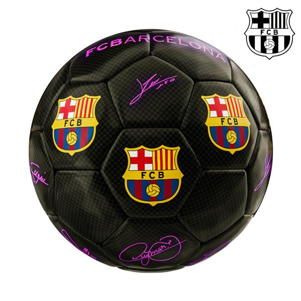 Balón de Fútbol Mediano Negro F.C. Barcelona (2)