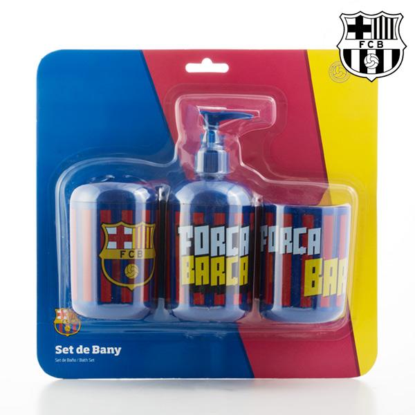 F.C. Barcelona Accessori per il Bagno FC Barcelona (3 pezzi)